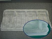 不織布+PETの複合材トレー